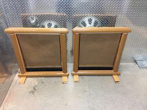 Vintage 1960s Magnavox Tube Amp Speakers