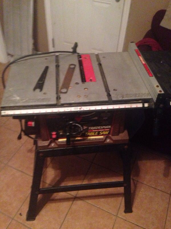 Tradesman Table Saw Model 8032 10inch Tools Machinery In Los Angeles Ca Offerup