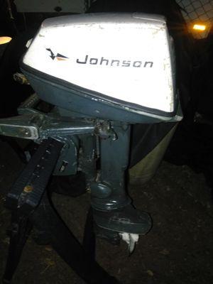 1971Johnson 6 horse outboard