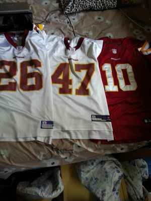 Redskins RG11, and others.