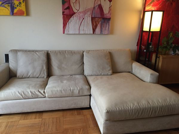 Room and Board Metro sectional with chaise (Furniture) in San ...