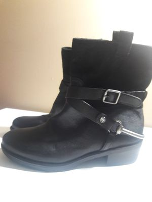 New Franco Sarto Leather and Suede Boots - size 6.5