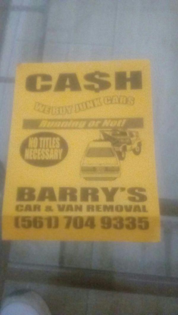 JUNK CARS VANS TOP $$$ PAID (Cars & Trucks) in Delray Beach, FL ...