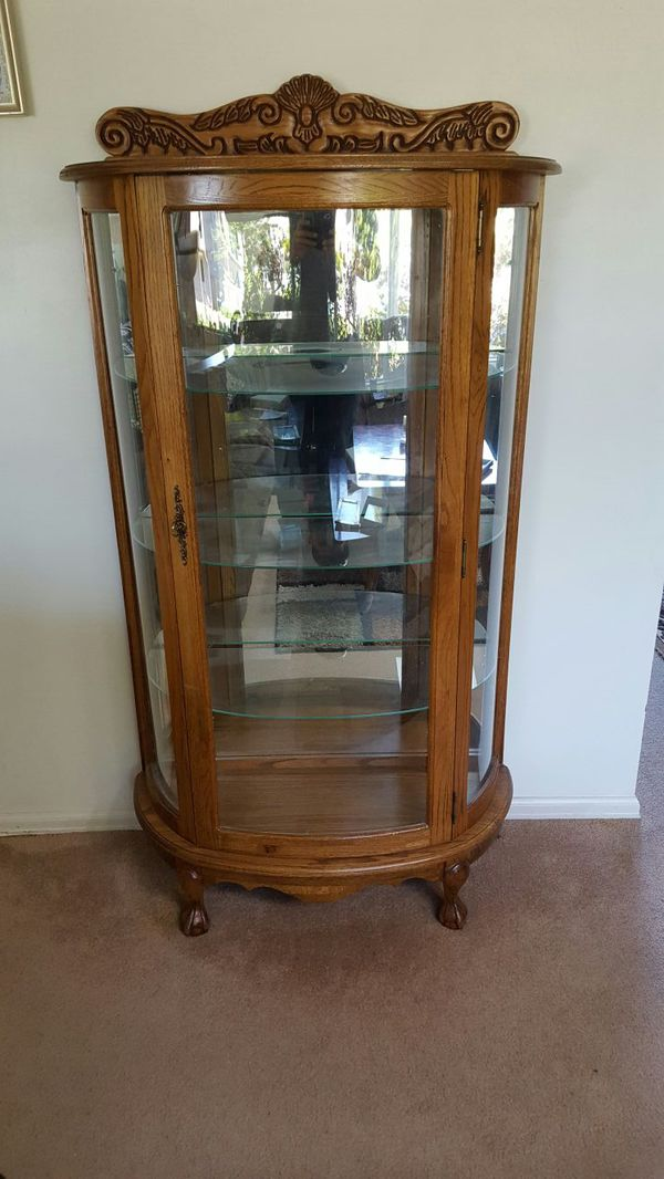 Curio cabinet furniture in edmonds wa offerup for Furniture edmonds wa