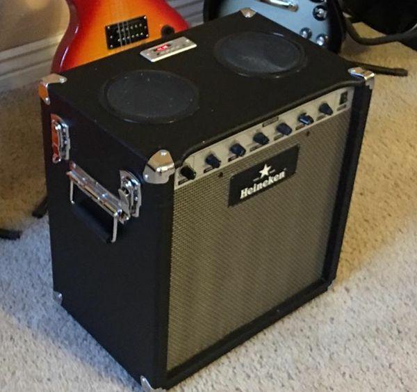heineken usb battery beer speaker cooler electric guitar amplifier musical instruments in. Black Bedroom Furniture Sets. Home Design Ideas