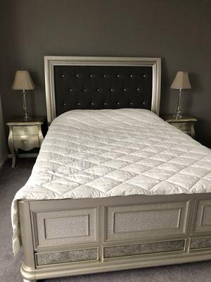 Glam Queen Bed