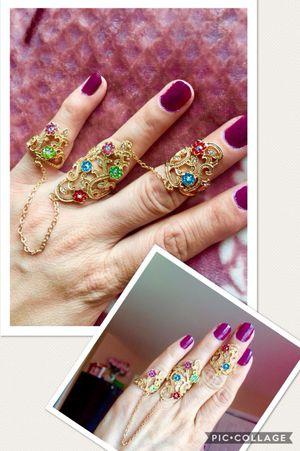 brand new triple finger ring