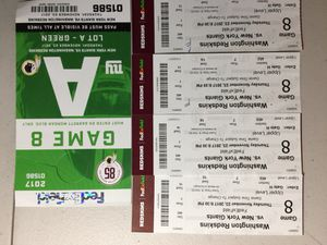 Giants at Redskins tickets, on Thanksgiving Day
