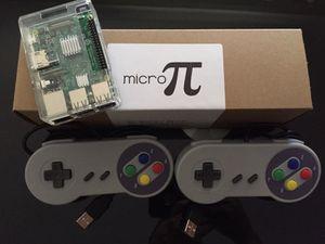Micro-Pi Console NEW 10,555+ video games! SNES Classic, NES, N64, Sega Genesis, MAME, Atari, PS1 and more!
