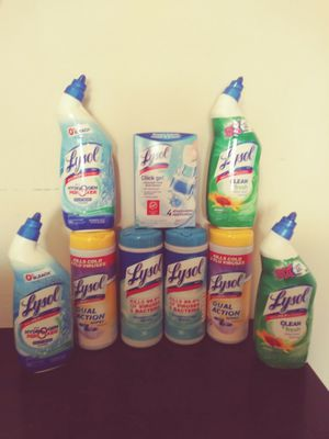 Lysol package
