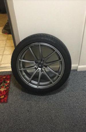 "Konig Wheels 18"" and Tires"
