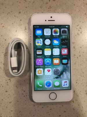 iPhone 5s 16g factory unlock like new