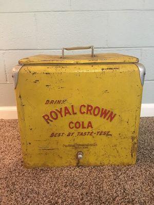 Vintage Royal Crown Cola Cooler