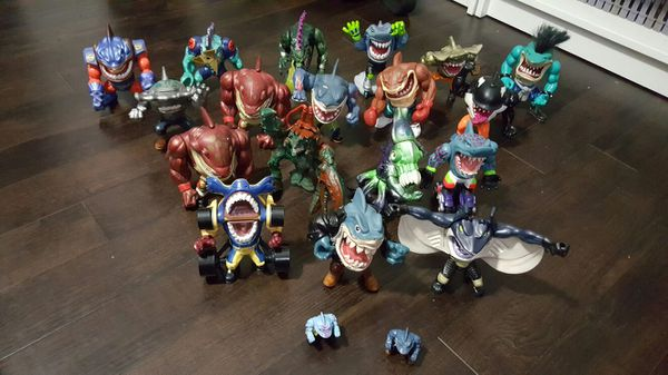 Street Sharks Toys : Street sharks action figures games toys in san jose ca