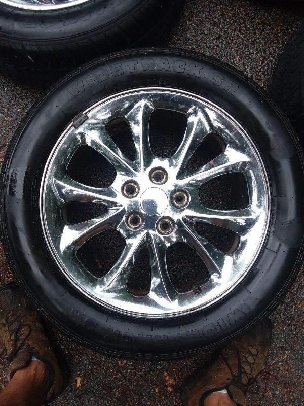 Chrome 18\'\' Chrysler 300M Rims and Tires (Cars & Trucks) in North ...