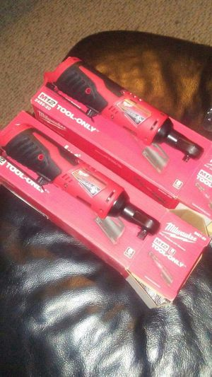Brand new Milwaukee ratchets 1/4 and 3/8 tool only