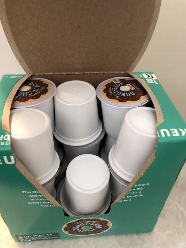 K-Cups Donut Shop Dark Roast (17 pods)