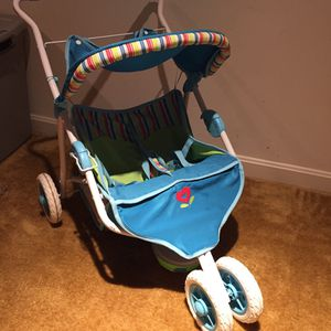 American Girl Bitty Baby Twin Toy Stroller