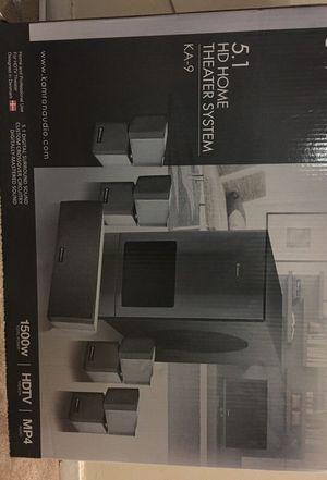 5.1 HD HOME THEATER SYSTEM KA-9