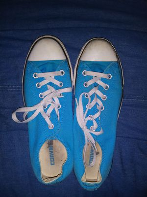 Ladies Converse turquoise and pink