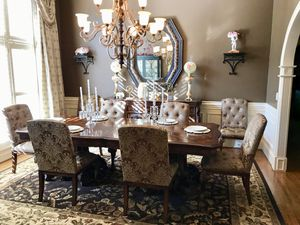 Dining Room Table 8 Chairs And Sideboard Pick Up In Thornblade