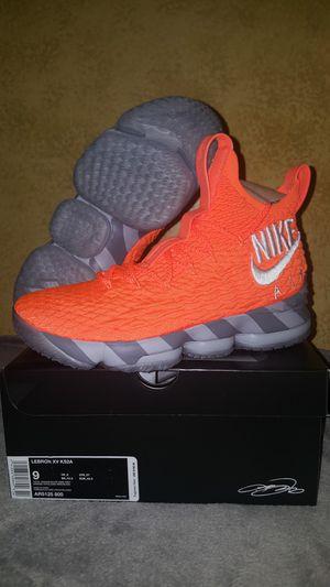"Brand new Nike Lebron 15 ""Orange Box"" Size 9"