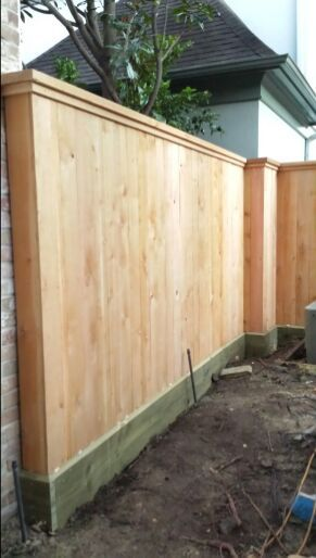 Fence porches pergolas cercas de madera o metal - Cercas de madera ...