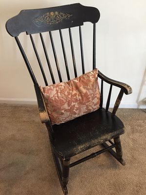 Vintage rocking chair (pillow not included)