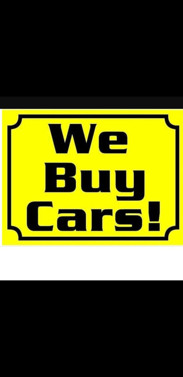 We buy cars running or not (Appliances) in Miami, FL