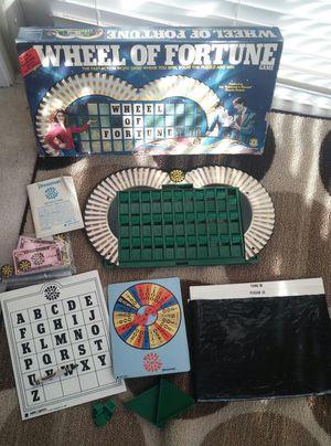 Wheel Of Fortune Board Game/Vintage 1985