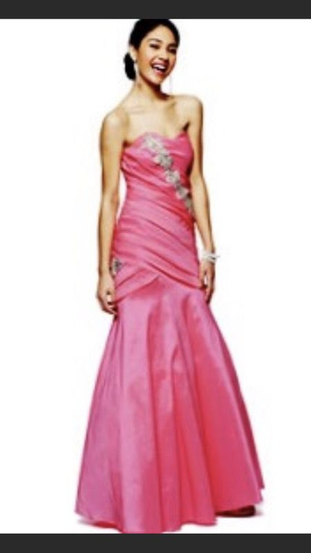 Pink prom dress size 10 -8 new never used (Clothing & Shoes) in ...