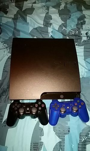PS3 160GB With games and controllers