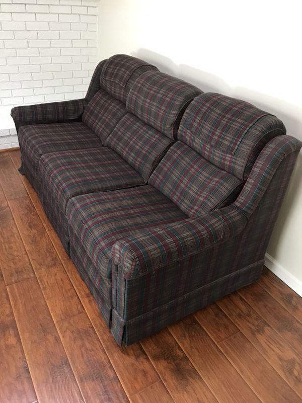 3 Seat Reclining Sofa Furniture In San Jose Ca Offerup