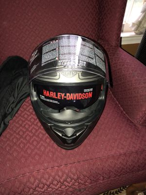 Brand New Harley Davidson Motorcycle Helmet NEVER USED.