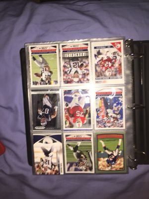Football cards and collectors book