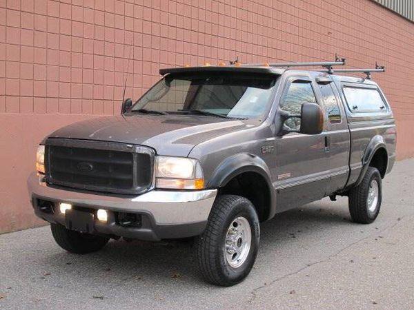 2003 ford f350 lariat super duty diesel truck f-350 4wd pickup truck