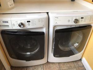 MAYTAG Maxima washer and dryer