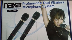 WIRELESS PROFESSIONAL MIC SET