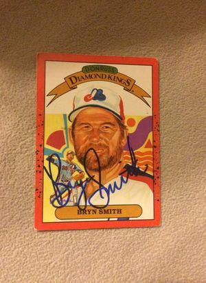 Bryan Smith Baseball Card