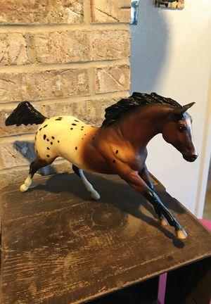 Breyer Sir Wrangler Running Appaloosa Stallion