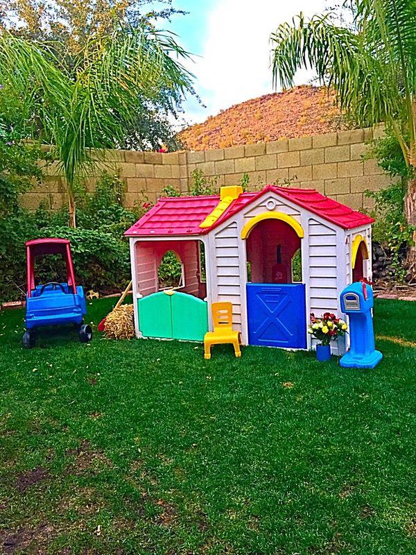 Cosy Little Tikes Home Garden Playhouse. Feber Toddler Playhouse with Garage Little Tikes Cozy Coupe  Step2 Mailbox Playset
