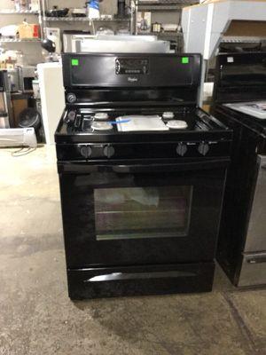 Whirlpool gas range oven (model: WFG515S0EB1)
