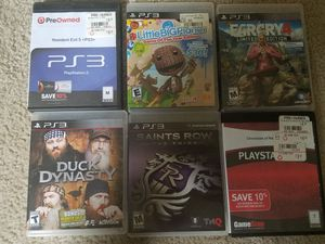 PS3 Games $3 each