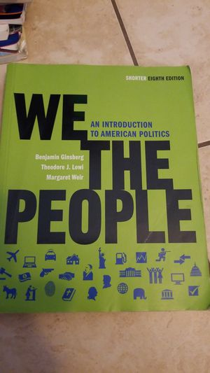 We the people. Valencia college book
