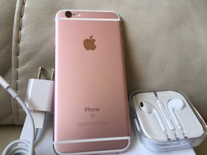 iPhone 6s Rose Gold,16 GB, excellent condition factory unlocked
