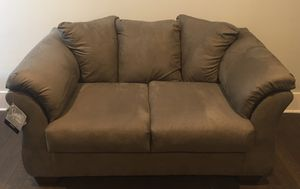 Ashley furniture charcoal love seat