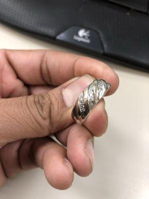 Men's wedding ring size 10