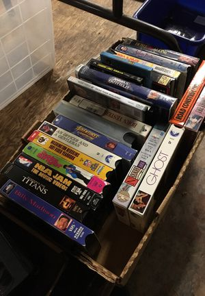 VHS tapes - FREE!