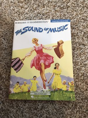 Sound of music song for piano