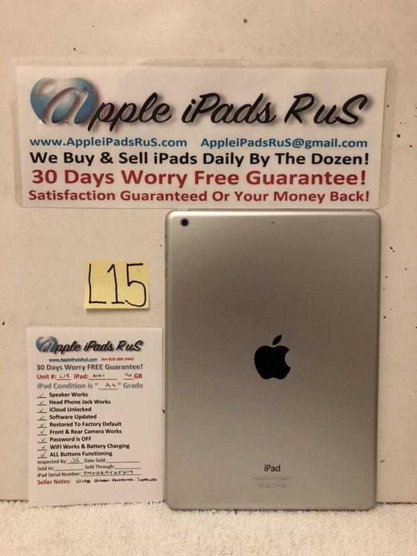 L15 - iPad Air 1 16GB